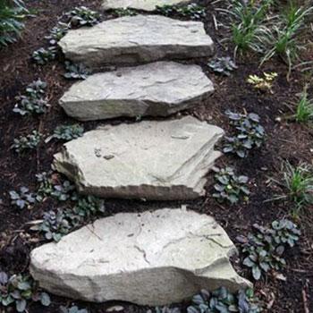 Fieldstone Steps