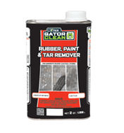 Paint, Rubber & Tar Removers