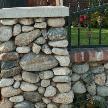 River Rock Installation