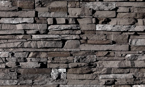 Dark Rundle - Stacked Stone